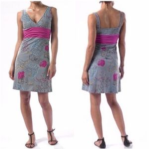 Patagonia Margot Gray Floral Dress Size Small